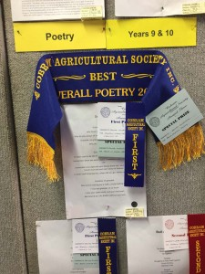 Poetry prize cobram