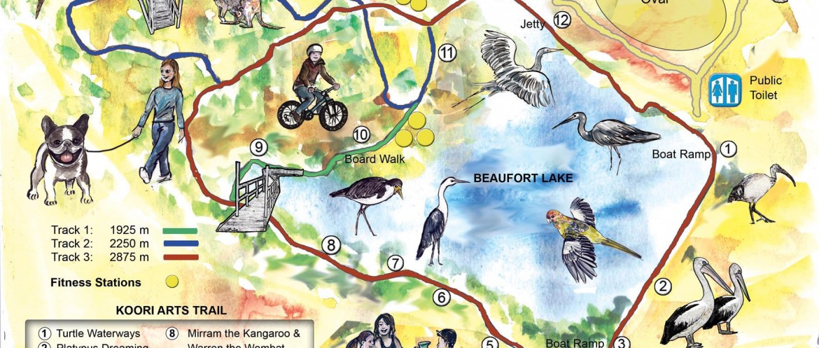 Beaufort Lake map web