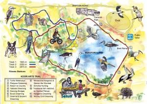 Beaufort Lake map web