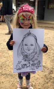 Fairy w dogs Maldon Show