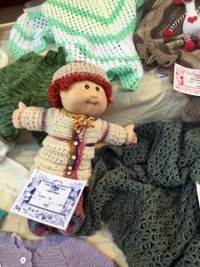 Knitting Display Cooma Show
